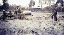 Beerburrum Farm- Allen's House from Margaret's Story- Sandy H., Alfred Snr H.& Alf Jnr H. (standing) Circa 1936